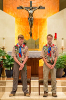 Michael Eagle Scout Ceremony 30-Oct-16